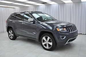 2015 Jeep Grand Cherokee LIMITED 4x4 SUV w/ HTD LEATHER, NAV, DU