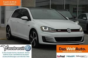 2016 Volkswagen Golf GTI Autobahn + PNEUS D'HIVER COMPRIS