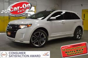 2014 Ford Edge SPORT AWD LEATHER NAVI PANO ROOF NAV REMOTE START