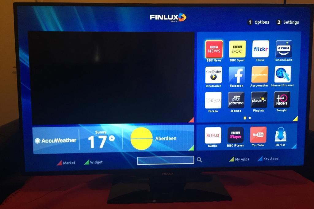 Finlux 50 inch Full HD 1080p Smart LED with Wifi and Freeview HD