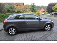 KIA Pro Ceed 1.6 EcoDynamics 3 door hatchback, metallic grey, diesel, 77,500 miles, private sale.