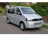VW T5 Camper Campervan 2010 only 70k Seats 6 Pop Top California Clone Available in London or Sussex