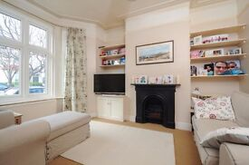 A charming two double bedroom house with study, reception with wood flooring, and private garden.