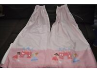 Next princess curtains / girl room Very good condition (like new)
