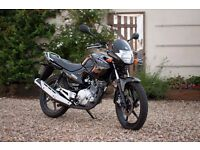 Yamaha Ybr 125 - Excellent condition - 1 Year manufactuers warranty remaining - Only 2100 miles