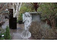 A stunning garden statue.