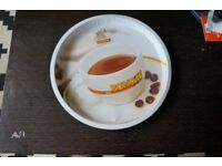 Bonomi Metal Tray with imprinted coffee print