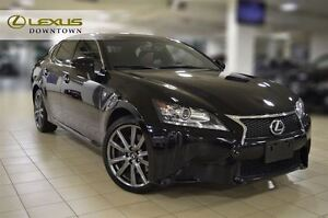 2013 Lexus GS 350 F SPORT AWD,NAVIGATION PKG, 1OWNER