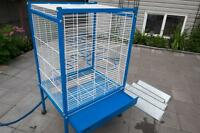 Bird Cages, Breeding boxes and accessories.