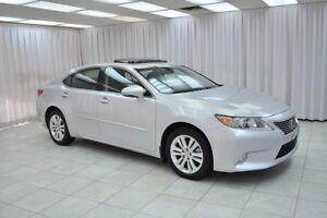 2013 Lexus ES 350 3.5L LUXURY SEDAN w/ BLUETOOTH, HEATED LEATHER