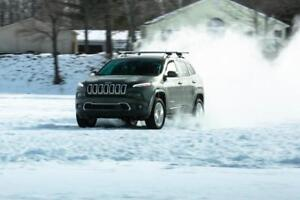 2014-2018 Jeep Cherokee Winter Tire Packages starting at $824.56 - P225/60/17 & P225/65/17 Snow Tires on Rims Installed