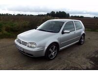 vw golf 2.8 4motion 2001 (51 plate) low mileage full service history