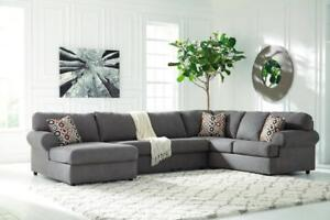 Jayceon Sectional - ASHLEY FURNITURE - SAVE UP TO 50% - FREE DELIVERY AND IN HOME SETUP IN CALGARY