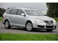 2008 Volkswagen Golf 2.0 TDI SE 5dr+DIESEL+FREE WARRANTY+12 MONTHS MOT+FULL SERVICE HISTORY+6 SPEEDS