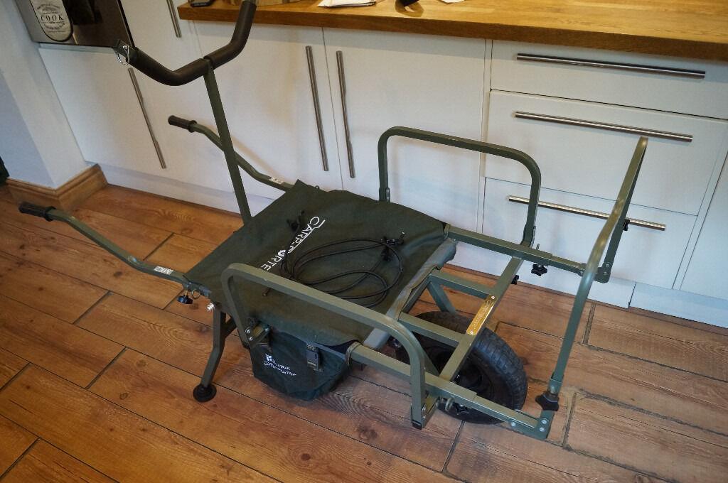 carp porter mk2 fishing barrow trolley gear tackle