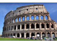 2 flight tickets from Bristol to Rome this summer