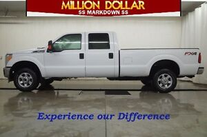 2013 Ford F-350 CREW CAB XLT 4X4 FX4 LONG BOX