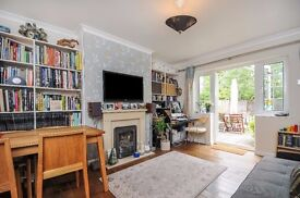 A two bedroom ground floor maisonette to rent in Surbiton. Oakwood House.