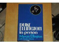 Duke Ellington in person 1978 Jazz book