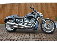 Harley Davidson V Rod custom painted in excellent condition