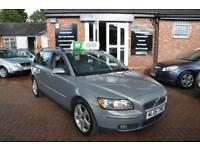 VOLVO V50 1.8 SE 5d 125 BHP 2 KEYS / LEATHER INTERIOR (grey) 2005