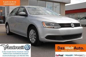 2012 Volkswagen Jetta Comfortline + Bluetooth + A/C + Mags + Cru