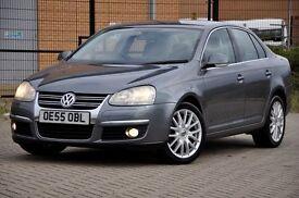 2005 Volkswagen Jetta 2.0 TDI Sport 4dr+DIESEL+FREE WARRANTY+FULL BLACK LEATHER+6 SPEEDS