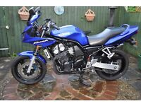 Yamaha Fazer FZS 600, 52 Plate. Low miles 18K. Very good condition.