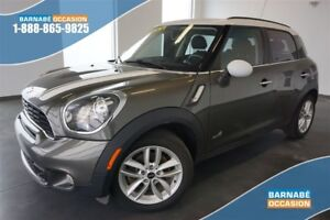 COOPER COUNTRYMANS ALL4 AWD+ CUIR+TOIT PANORAMIQUE