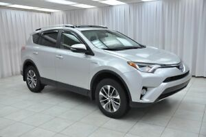2016 Toyota RAV4 XLE HYBRID AWD SUV w/ BACK-UP CAMERA, DUAL CLIM