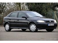 2004 Vauxhall Astra 1.6 i Club 5 DOORS+HATCHBACK+LONG MOT+FULL SERVICE HISTORY+RELIABLE RUNNER
