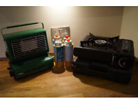 FISHING BIVVY HEATER & SUIT CASE COOKER + GAS DELIVERY AVAILABLE CARP FISHING GEAR TACKLE