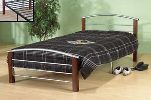 SINGLE BEDS FOR SALE | ALSO AVAILABLE - LOW PLATFORM BED WITH LIGHTS, MODERN COOL LOOKING LEATHER BED (IF94)