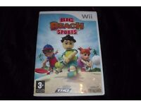 "NINTENDO WII GAME ""BIG BEACH SPORTS"" COMPLETE IN BOX"