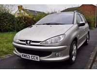 PEUGEOT 206 SW 2.0 HDI XSI 5DR ( TINTED WINDOWS)