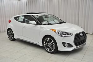 2016 Hyundai Veloster TURBO TECH 4PASS 4DR HATCH w/ HTD LEATHER,