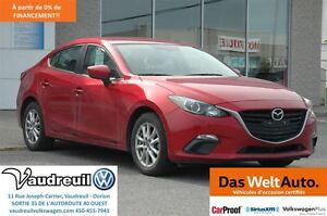 2015 Mazda MAZDA3 GS + GR. COMMODITÉ + CRUISE + TOUCHSCREEN + BL