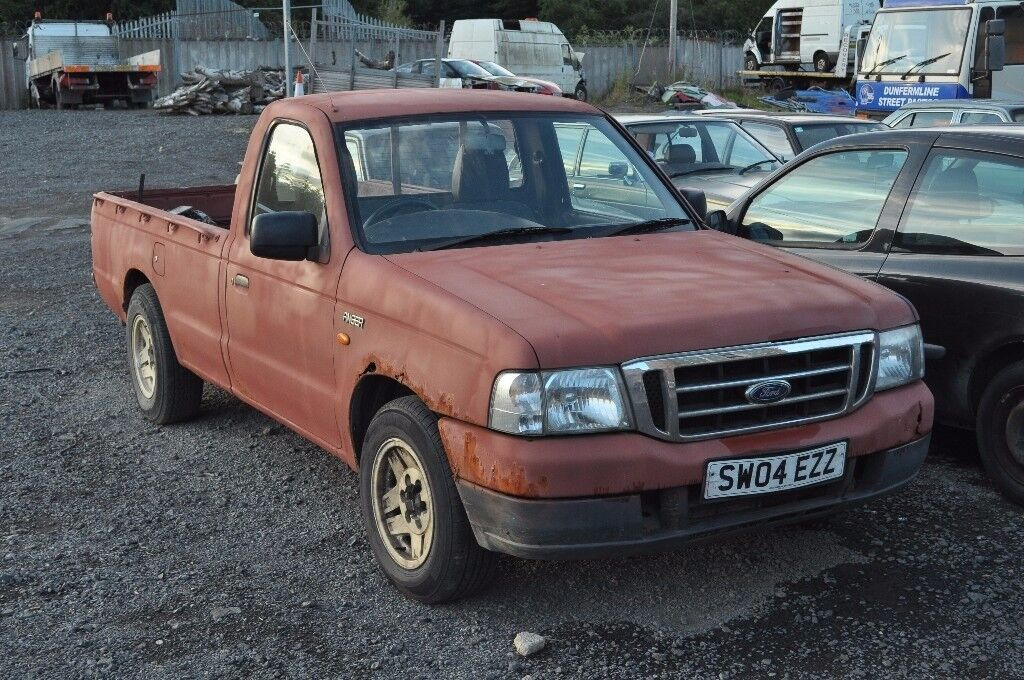 Ford Ranger Single Cab 2.5TD RWD
