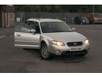 SUBARU LEGACY OUTBACK 2.5 AWD NEW MOT, UPGRADED BRAKES