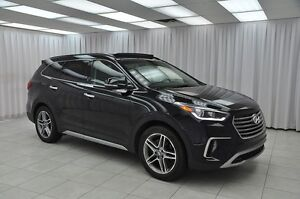 2017 Hyundai Santa Fe .9%W/HP XL LIMITED 7PASS AWD SUV w/ BLUETO