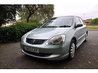 Honda Civic 1.6 se, 5 door hatchback *long mot*