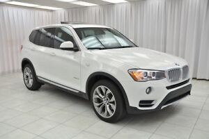 2017 BMW X3 28i x-DRIVE SUV w/ NAVIGATION, PANO ROOF, REAR CAM