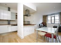 WAREHOUSE CONVERSION, TWO DOUBLE BEDROOMS, TWO BATHROOMS, EXPOSED BRICKWORK, SECURE DEVELOPMENT.