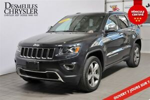 2016 Jeep Grand Cherokee Limited**CUIR**TOIT OUVRANT**18988 KM**
