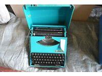 type writer smith-corona. SCM