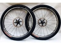 Shimano XTR M985 Race Mountain Bike Wheelset wheels 26inch RRP£809 Schwalbe Tires hope mavic
