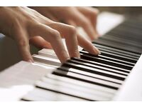 Piano spaces available | £10 half hour | Experienced training