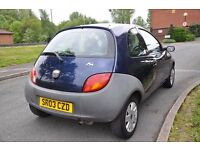 Ford Ka 1.1l petrol 3 door hatchback *2 keys* *Long mot*