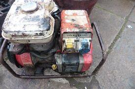 PETROL GENERATOR 240/110V SPARES REPAIRS