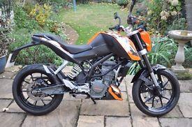 KTM Duke 125 2014
